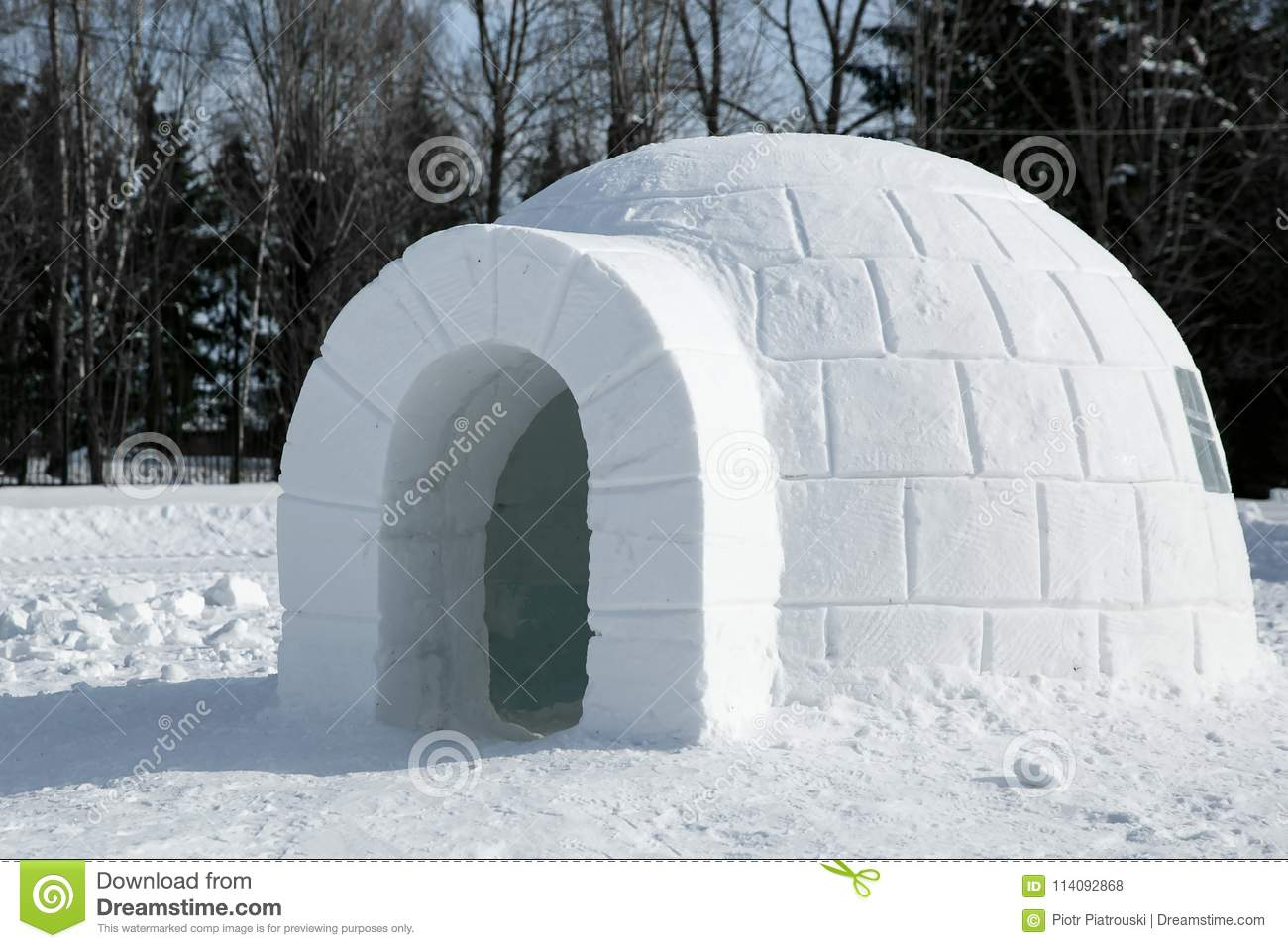 igloo coloring pages high resolution - photo#37