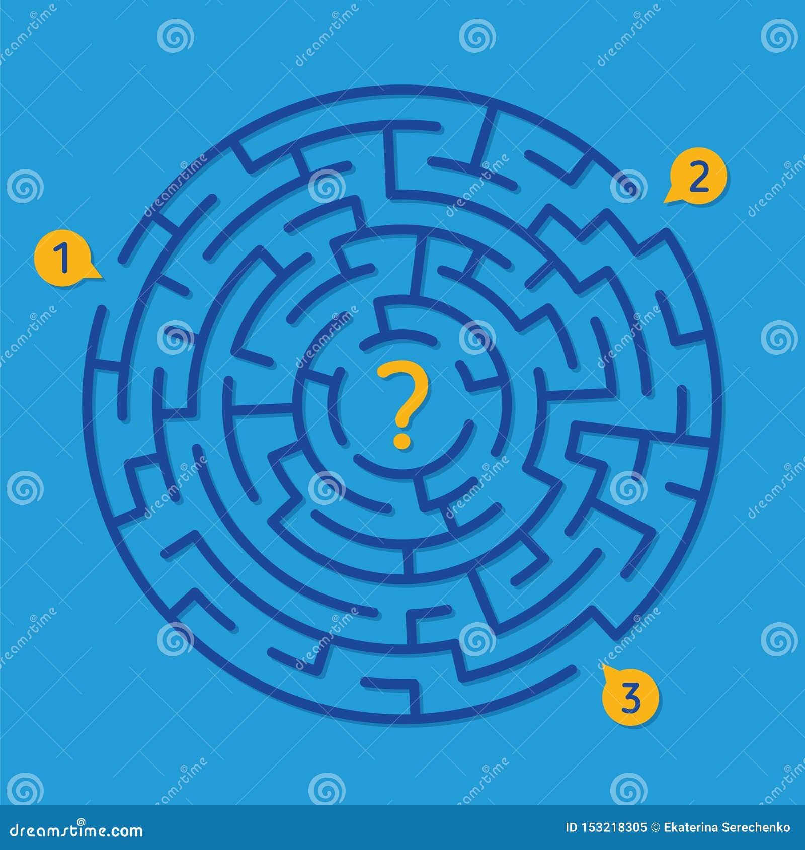 Round labityntu labiryntu gra, znajduje prawego sposób