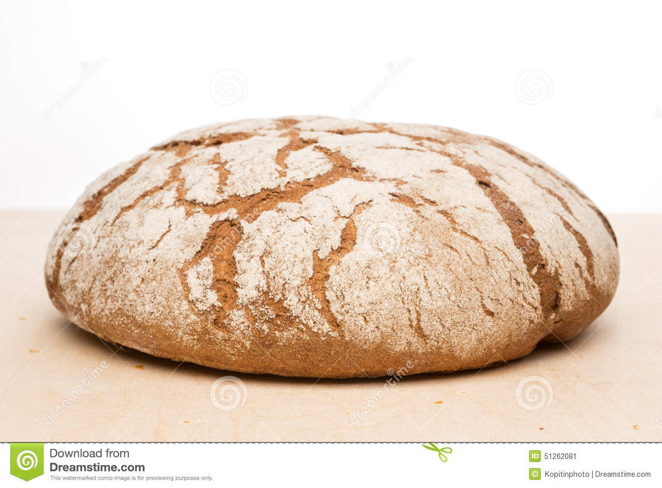 how to make a round loaf of bread
