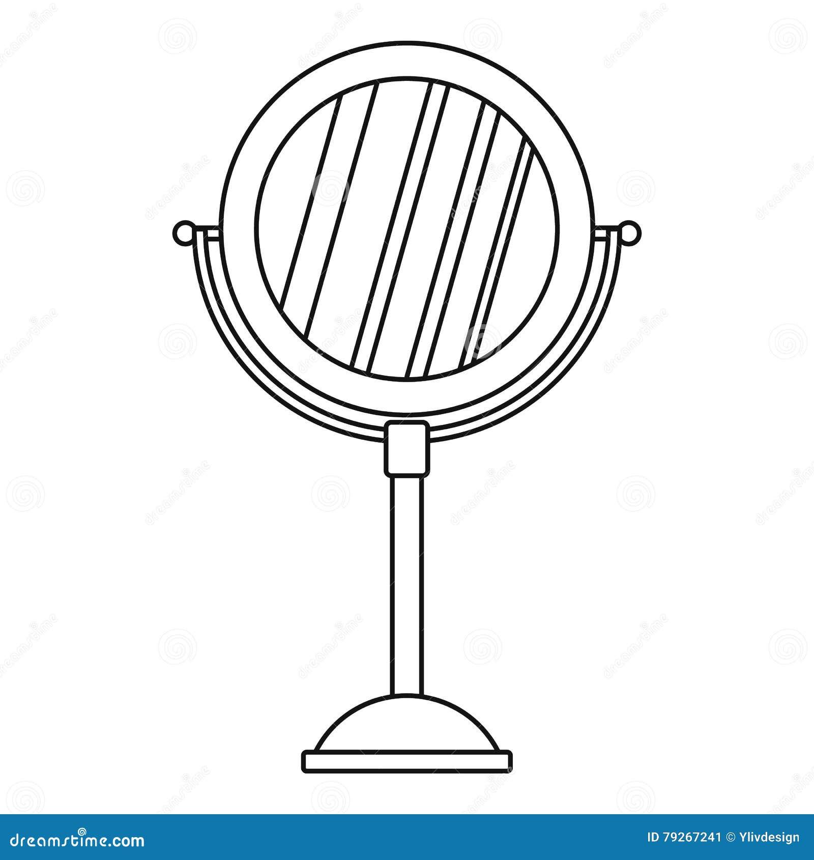 Bathtub Icon In Simple Style Cartoon Vector