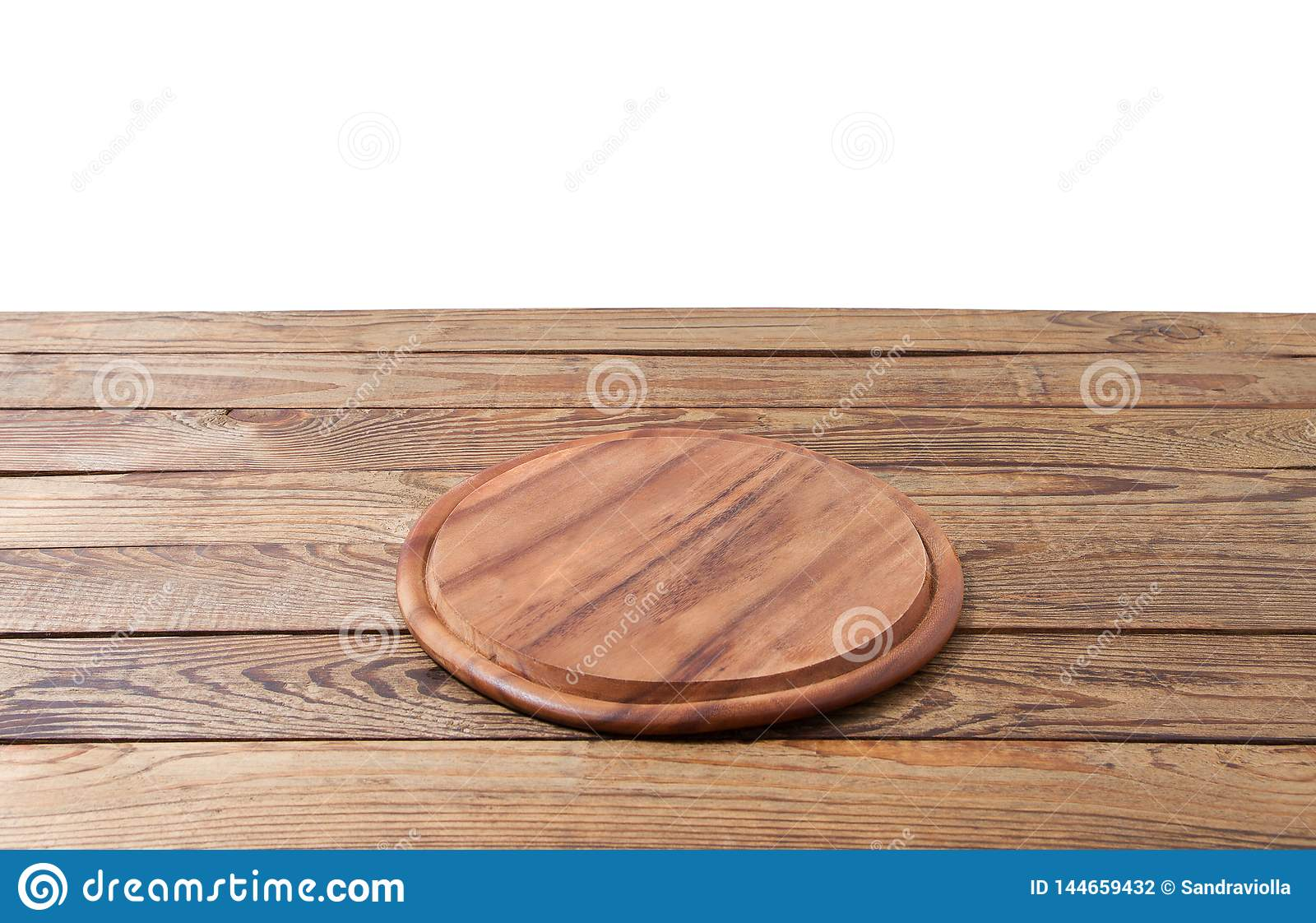 Tremendous Round Pizza Food Cutting Board On Brown Wooden Table Machost Co Dining Chair Design Ideas Machostcouk
