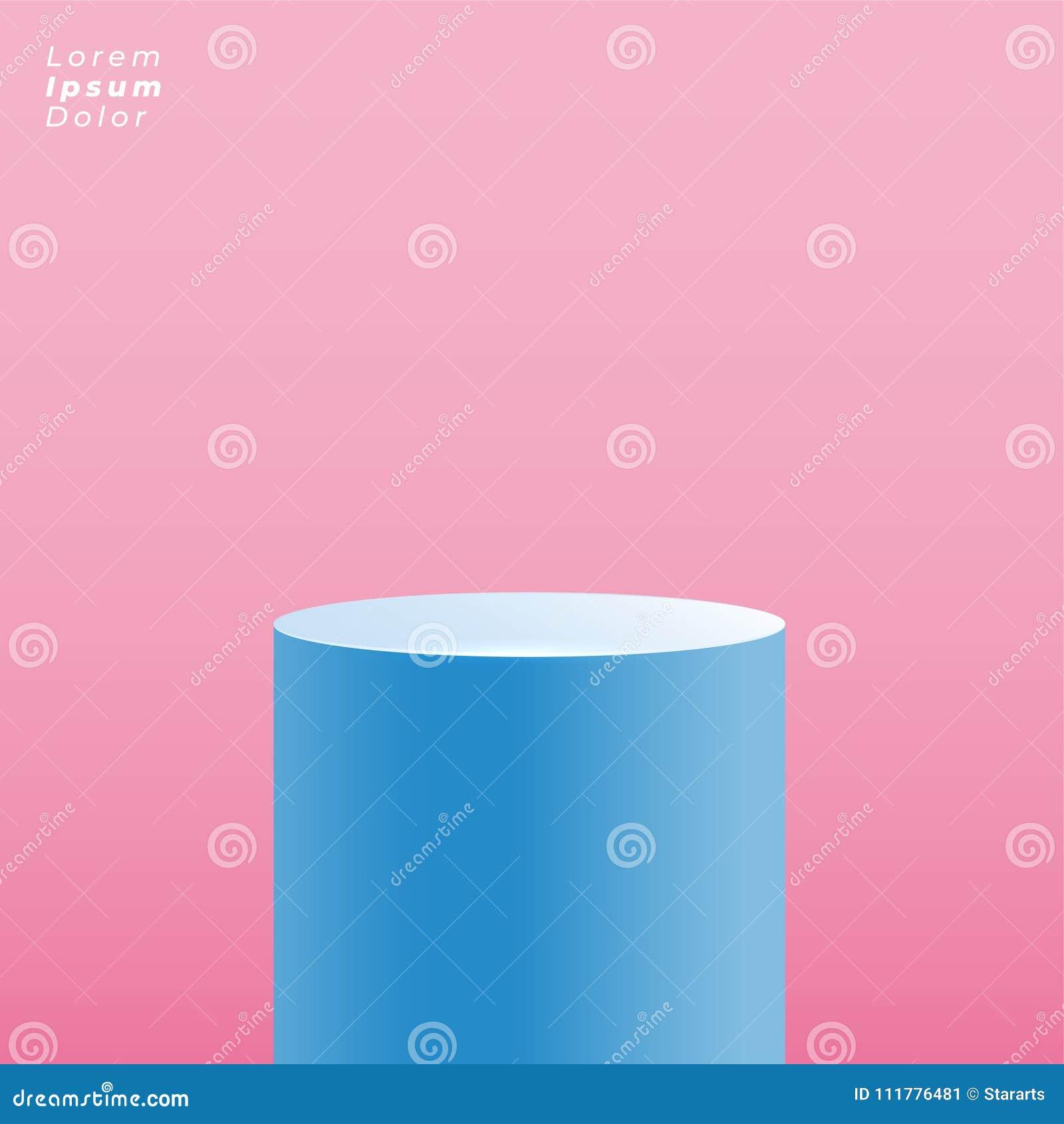 Round platform for product display presentation