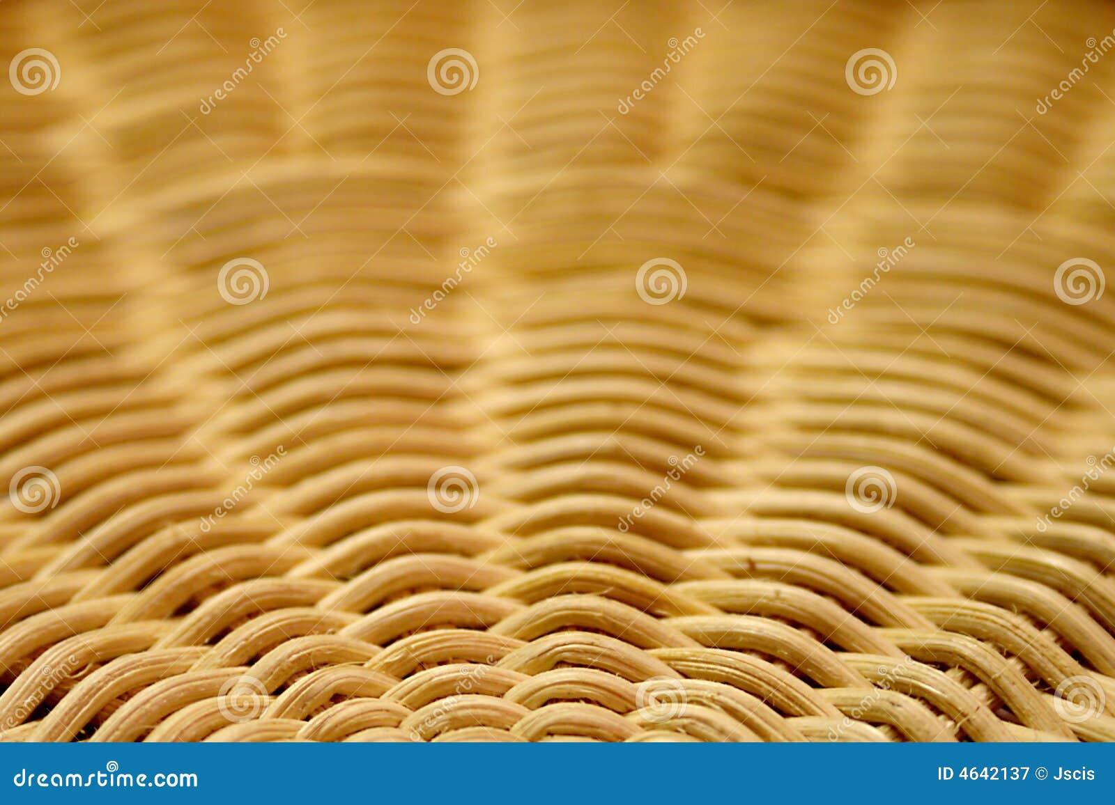 Basket Weaving Round Reed : Round reed basket pattern royalty free stock photography