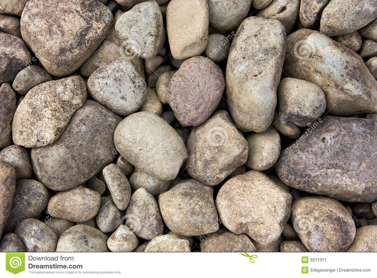 Round River Rocks Stock Image Image Of Numerous Closeup 9211311