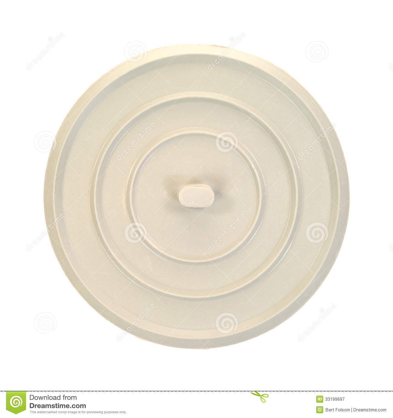 Best Water Stopper : Round rubber sink stopper stock image of unused