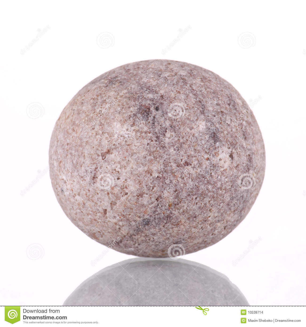 Marble Round Stone : Round stone stock photo image of contrast mineral