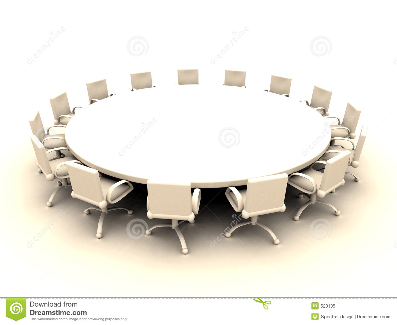 round table 2 royalty free stock photo image 523135