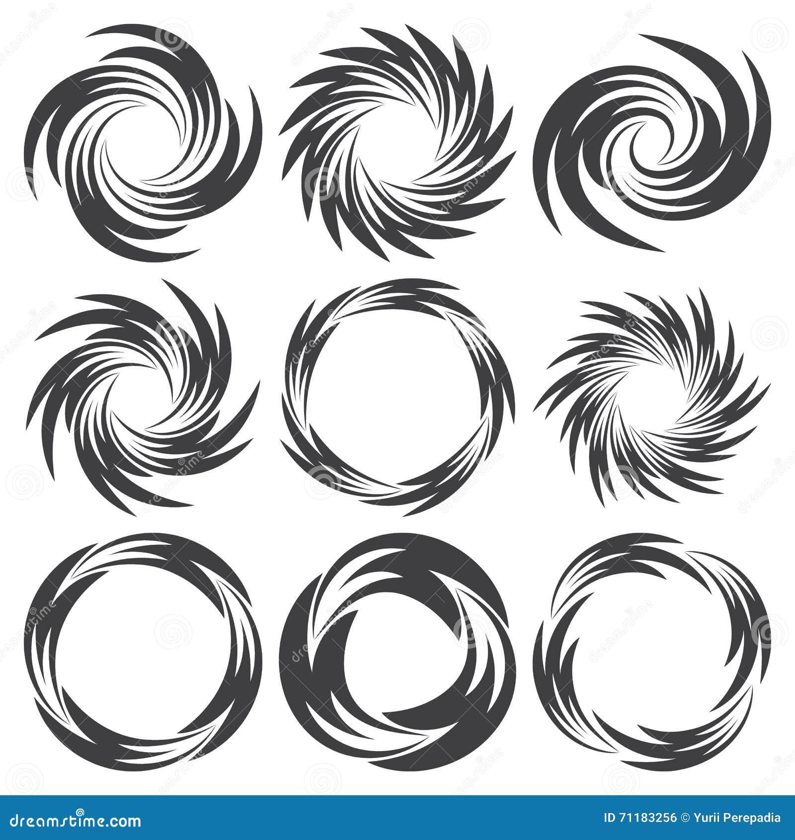 form of round particles border collie design vector illustration 78991606. Black Bedroom Furniture Sets. Home Design Ideas