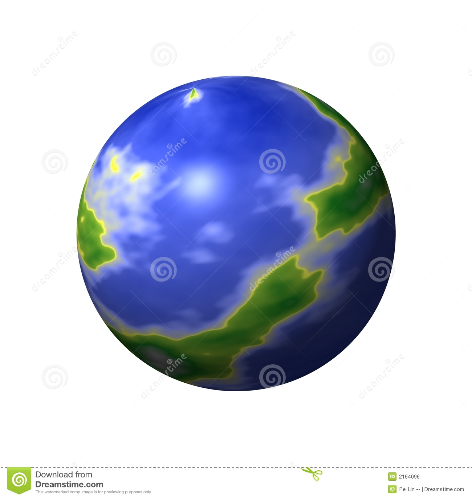 Round World Map stock illustration. Illustration of atlas - 2164096