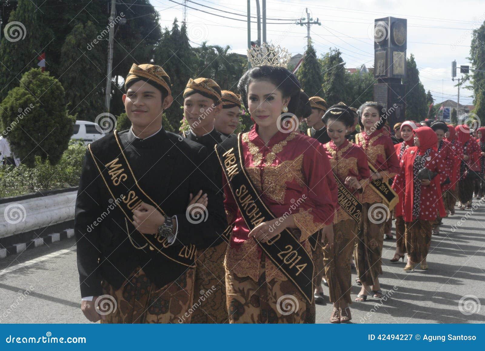 Roupa Java Carnival Celebration In Sukoharjo