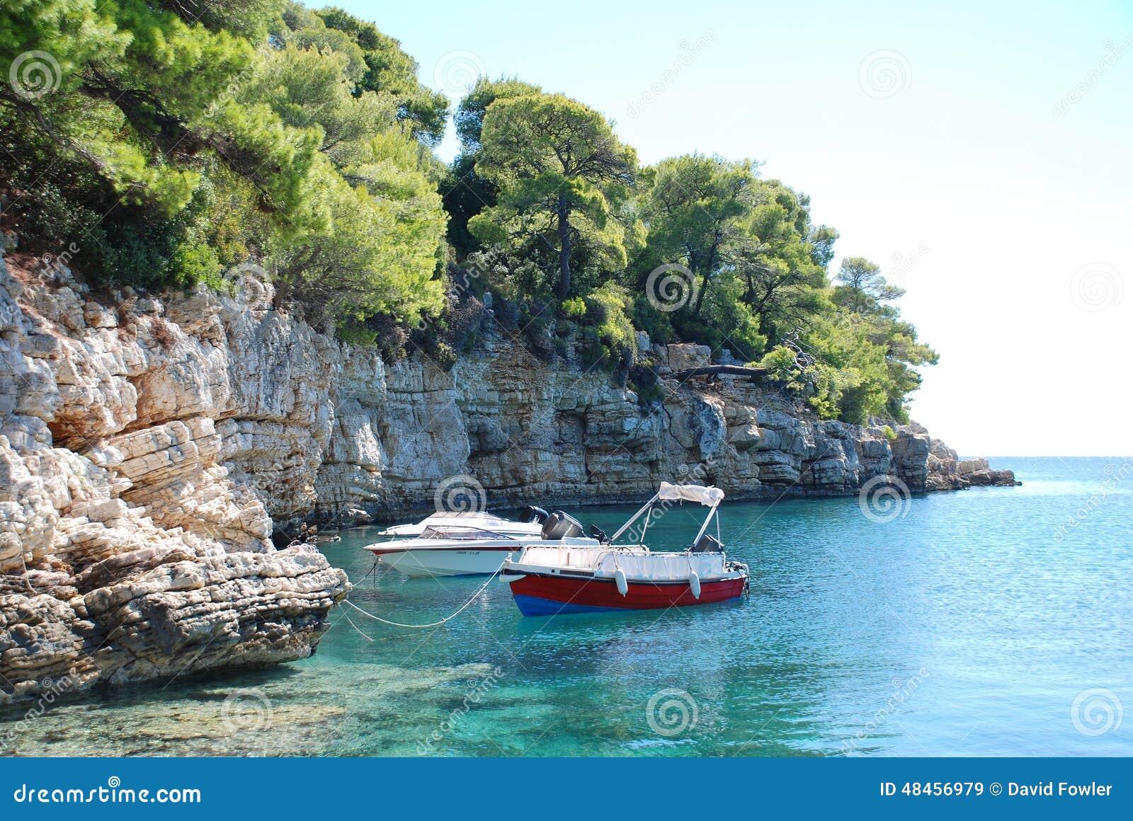 Rousoum-Bucht, Alonissos