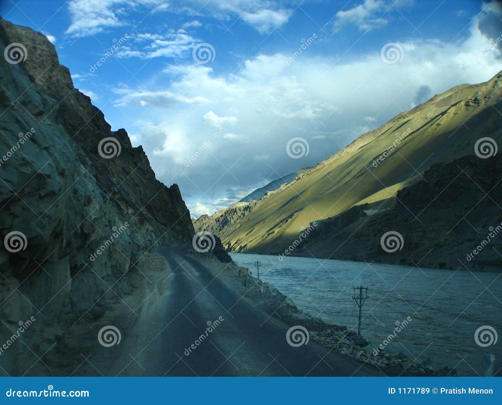 Route à Leh