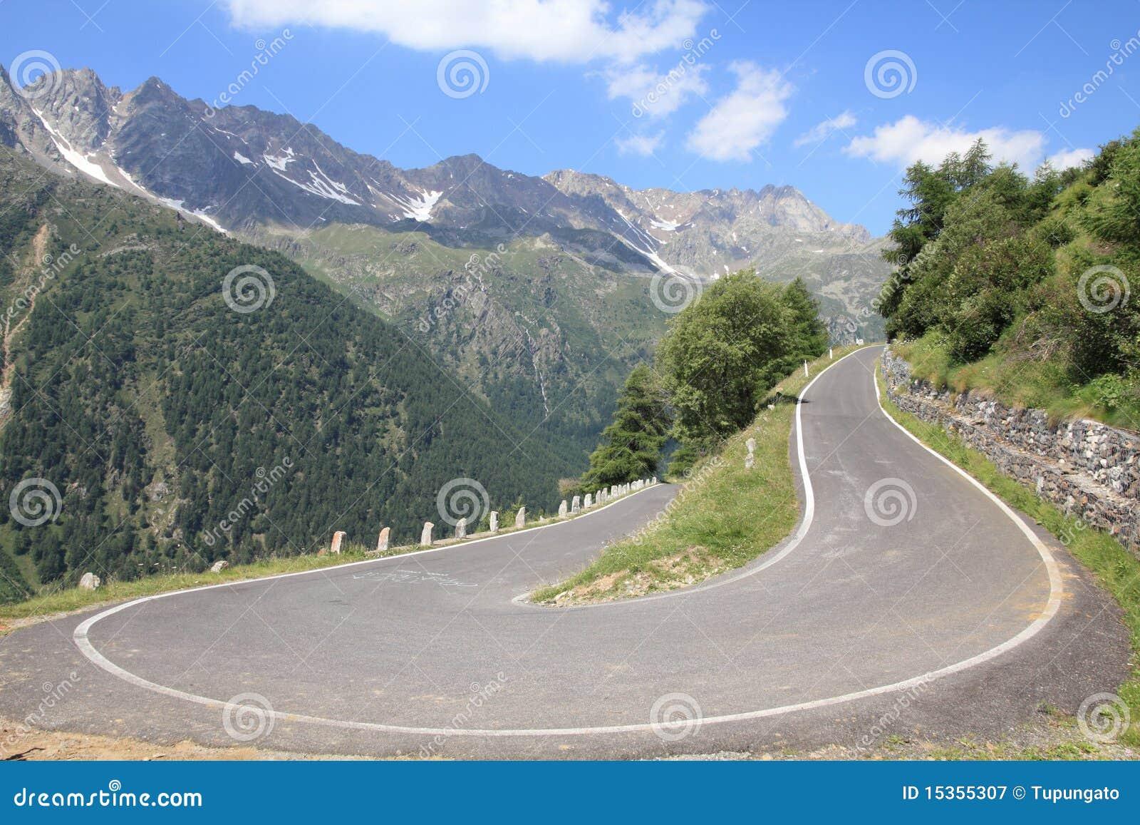 Route alpestre