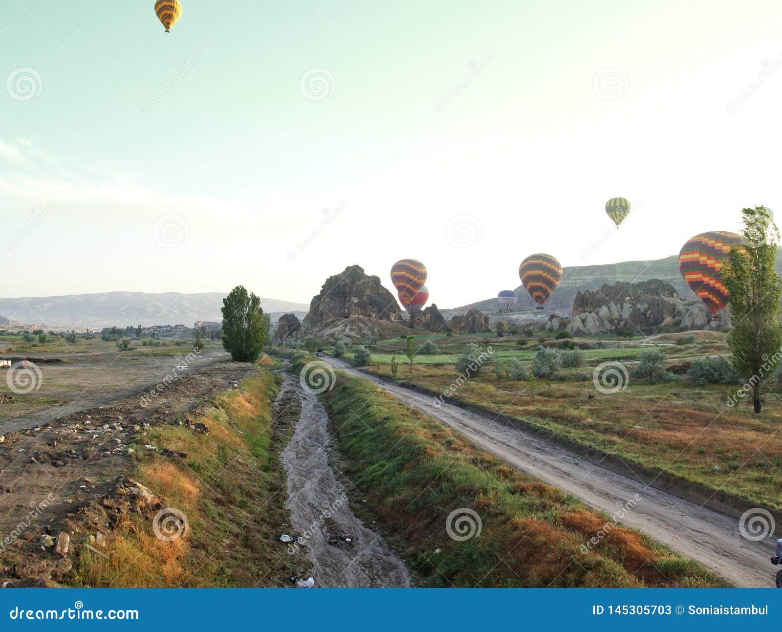 Route au cappadocia