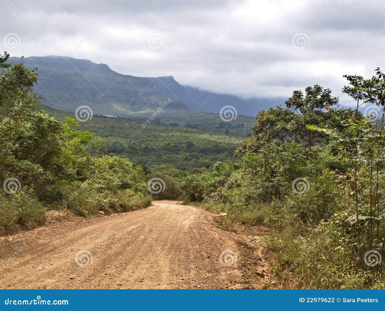 Route au Chapada