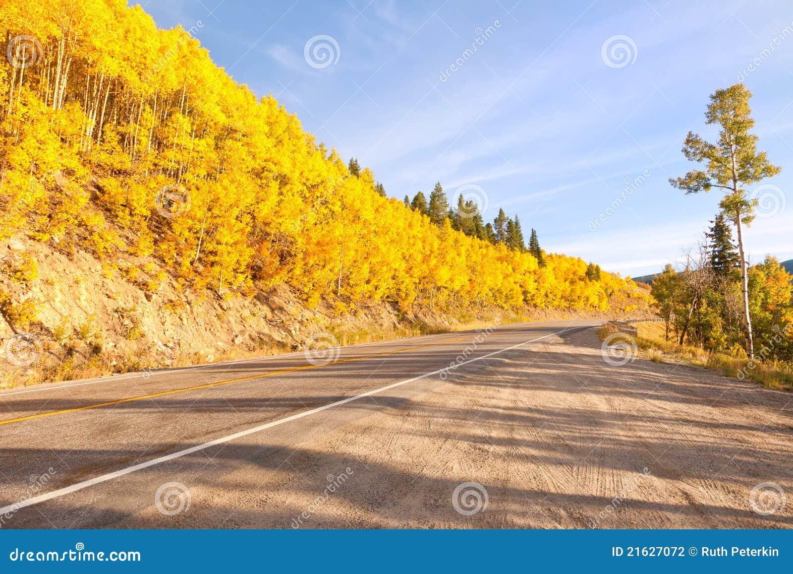 Route au passage de l indépendance dans le Colorado