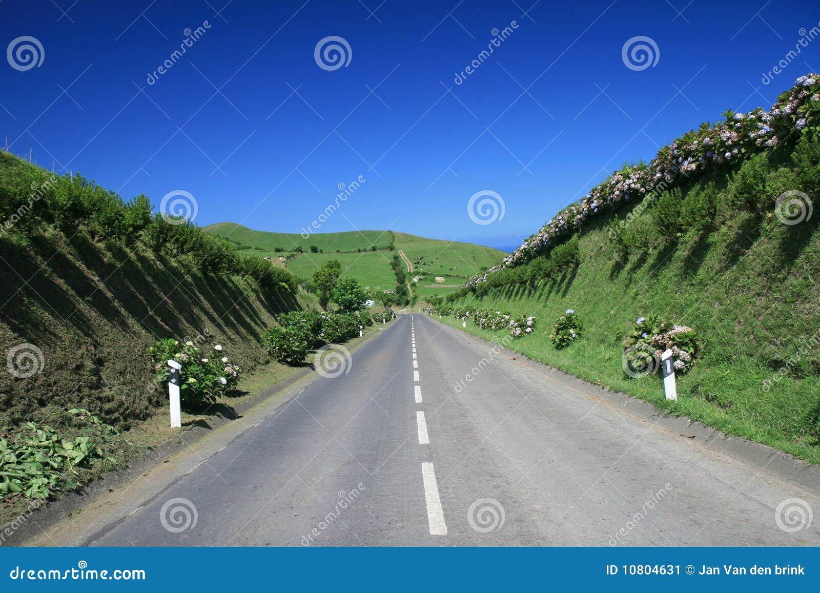 Route aux Açores