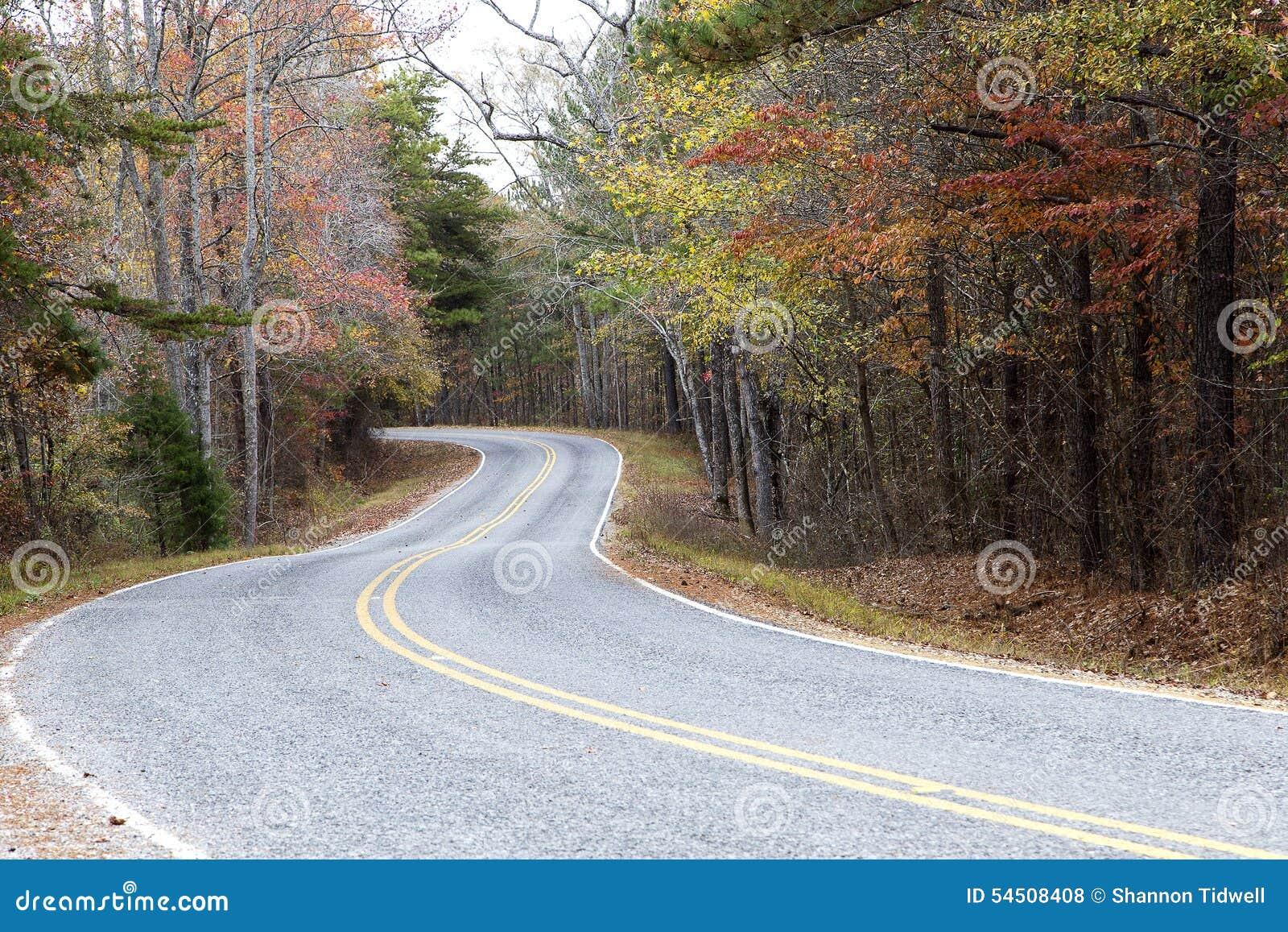 Route colorée