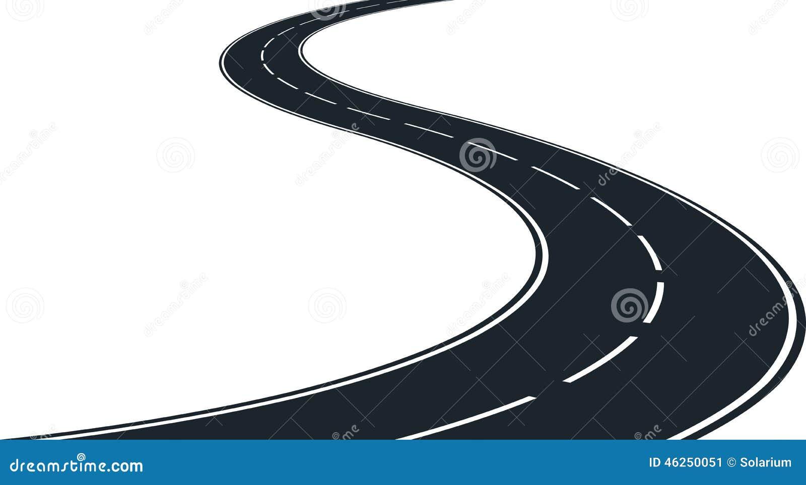 Route d enroulement