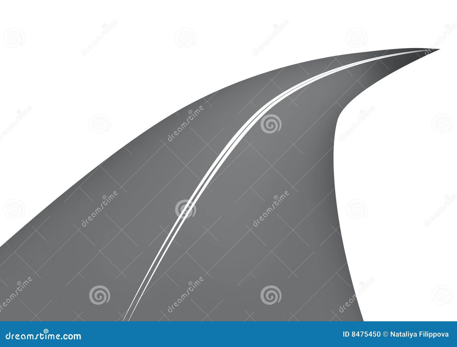 Route de dessin anim photo stock image 8475450 - Dessin de route ...