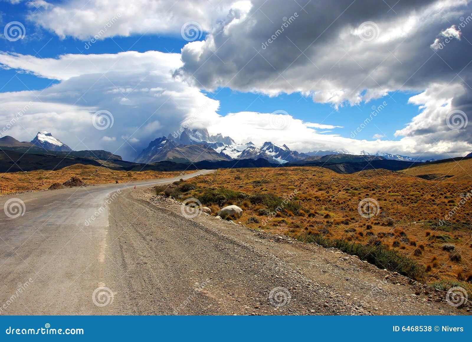 Route de montagne à