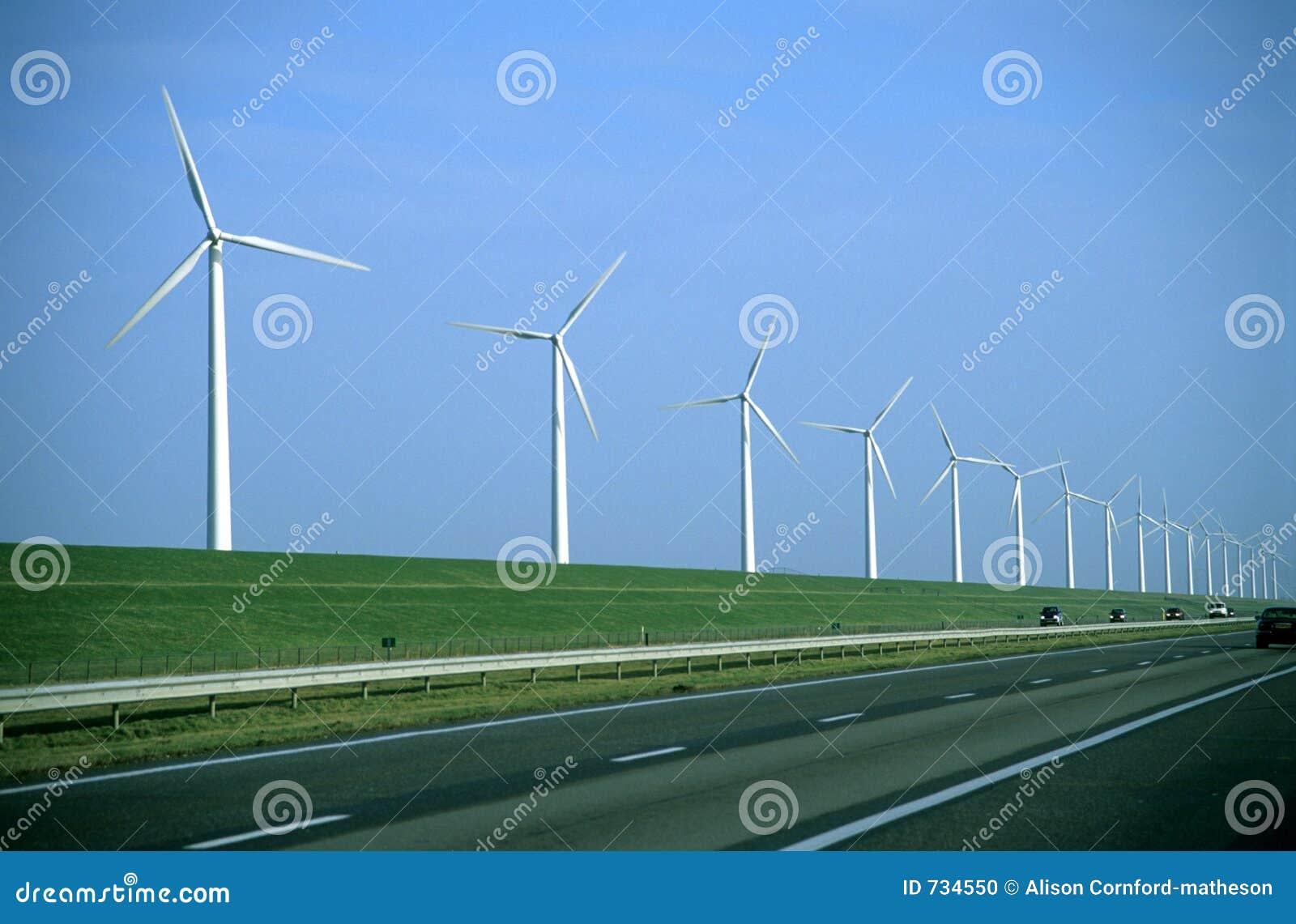 Route de moulin à vent - texture visible de film