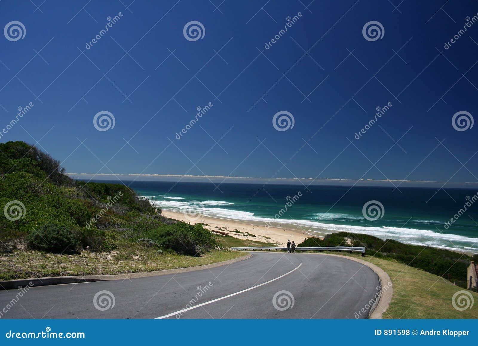 Route de plage