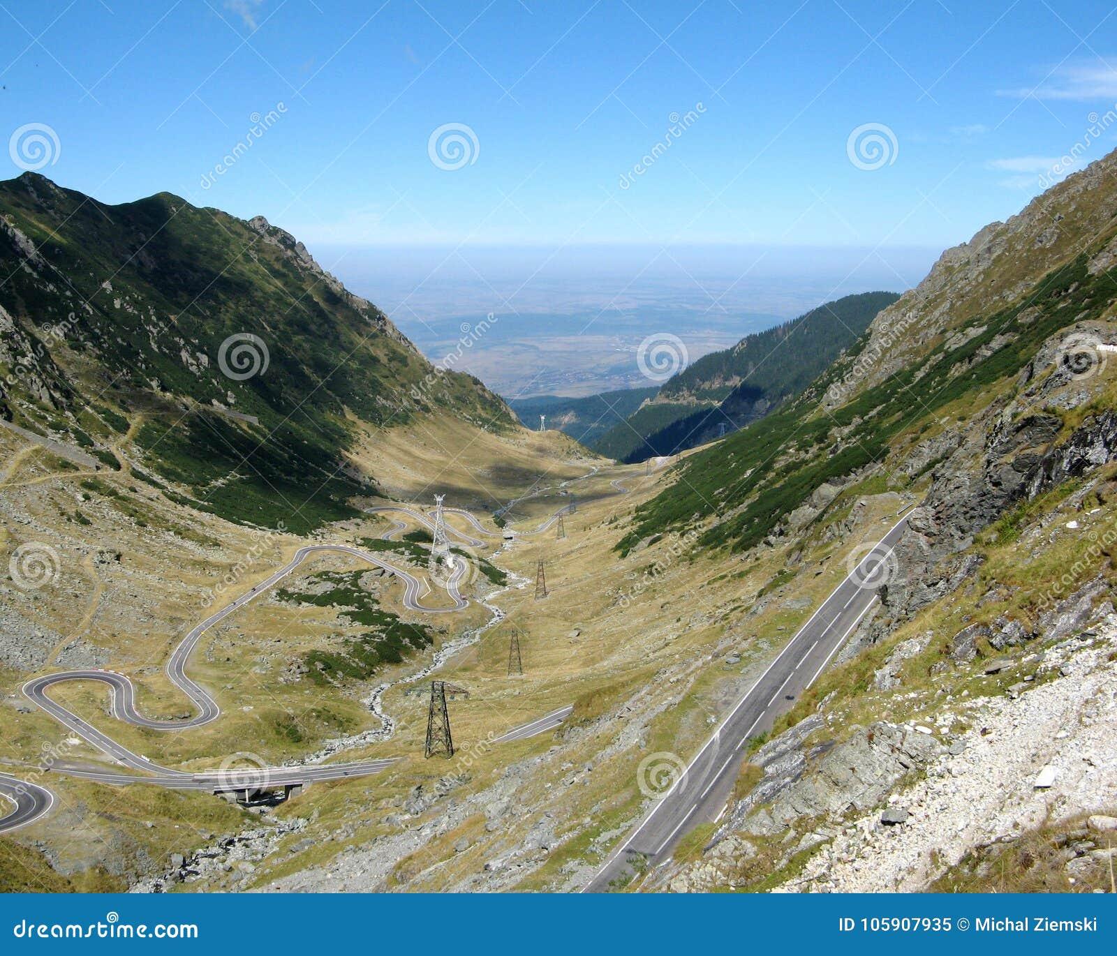 Route de Transfagarasan en Roumanie