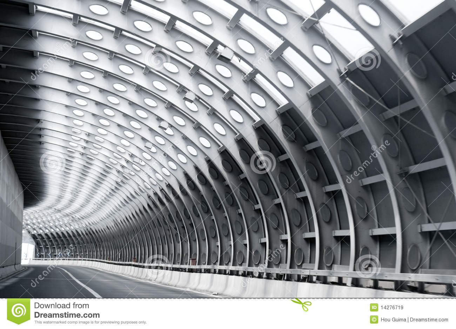 Route de tunnel
