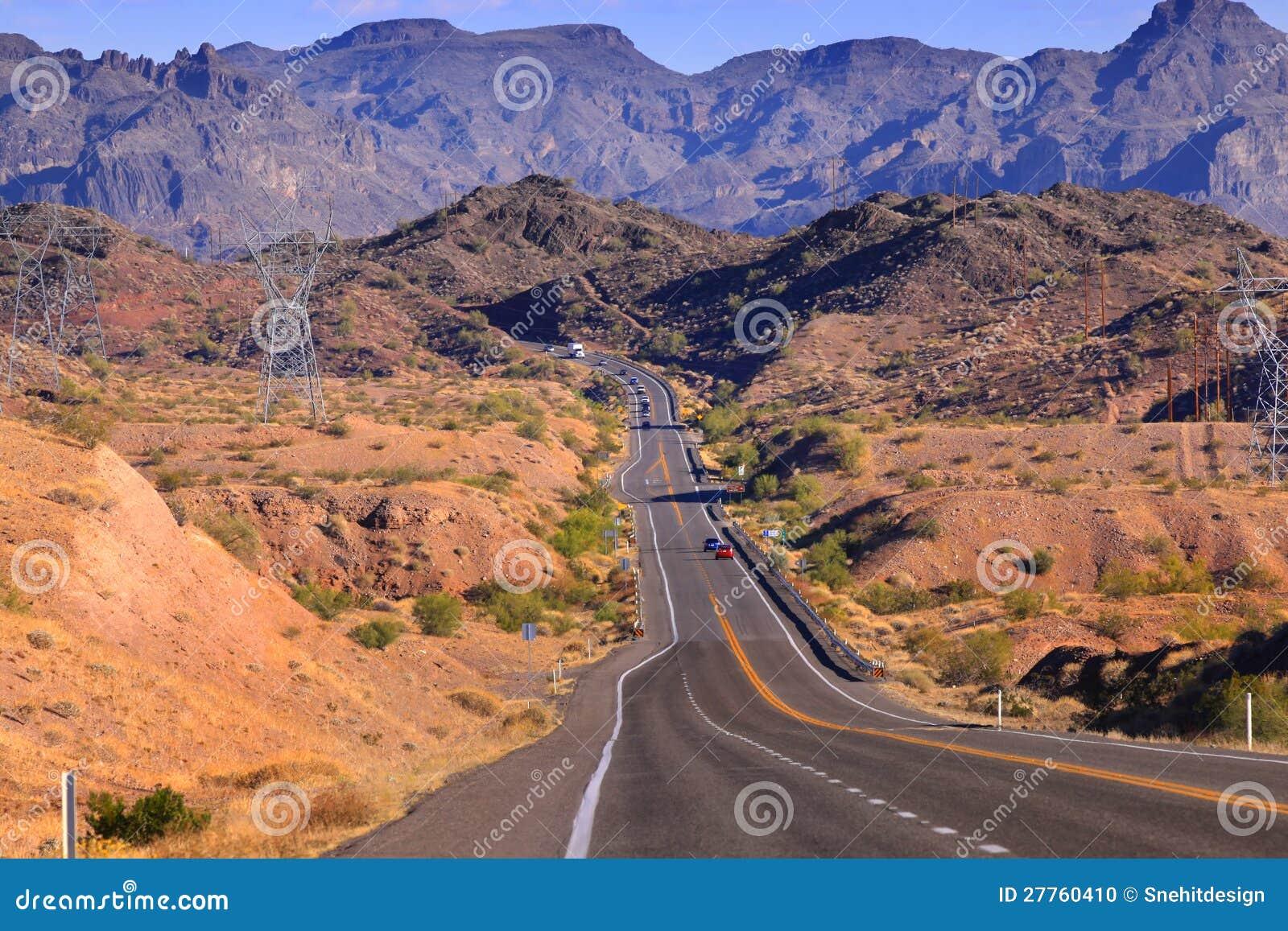 Route par le terrain raboteux