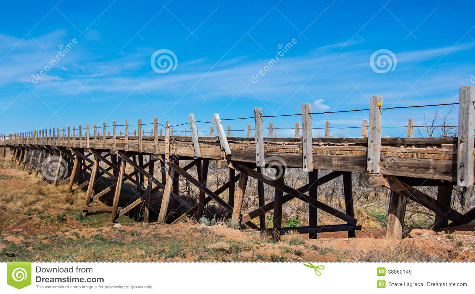 Route 66: Ponte de madeira, Endee, nanômetro