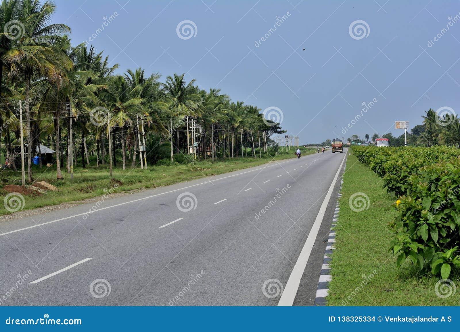Routes de route de Karnataka - de Tumkur Chitradurga