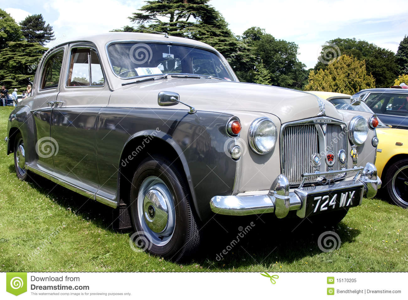 Rover P4 Classic Car Editorial Image Image Of Vintage