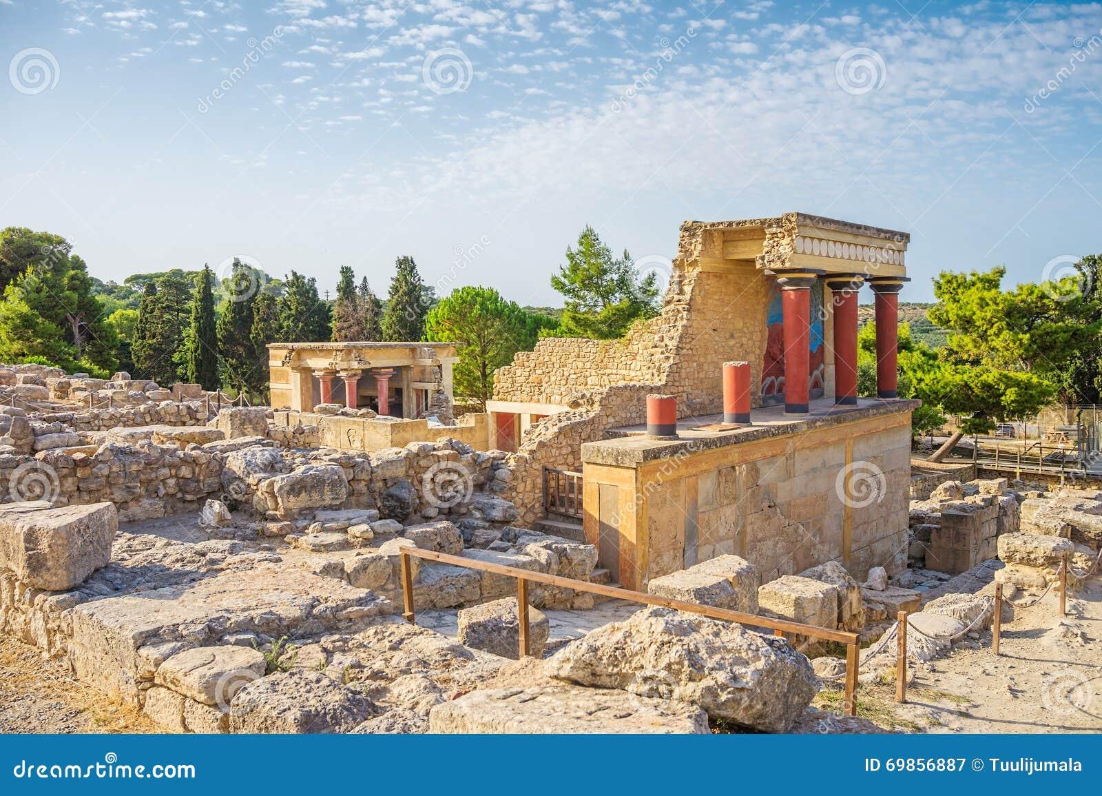 Rovina del palazzo di cnosso immagine stock immagine for Planimetrie del palazzo mediterraneo