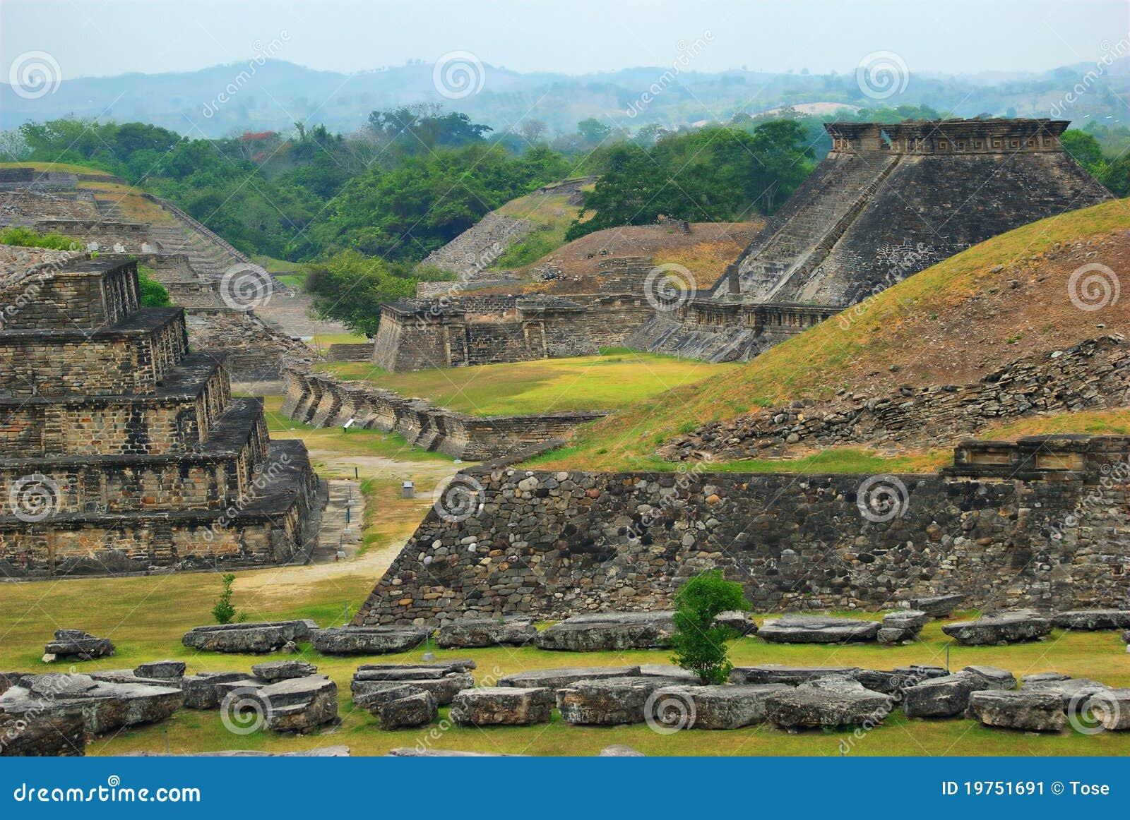Rovine Archaeological di EL Tajin, Veracruz, Messico