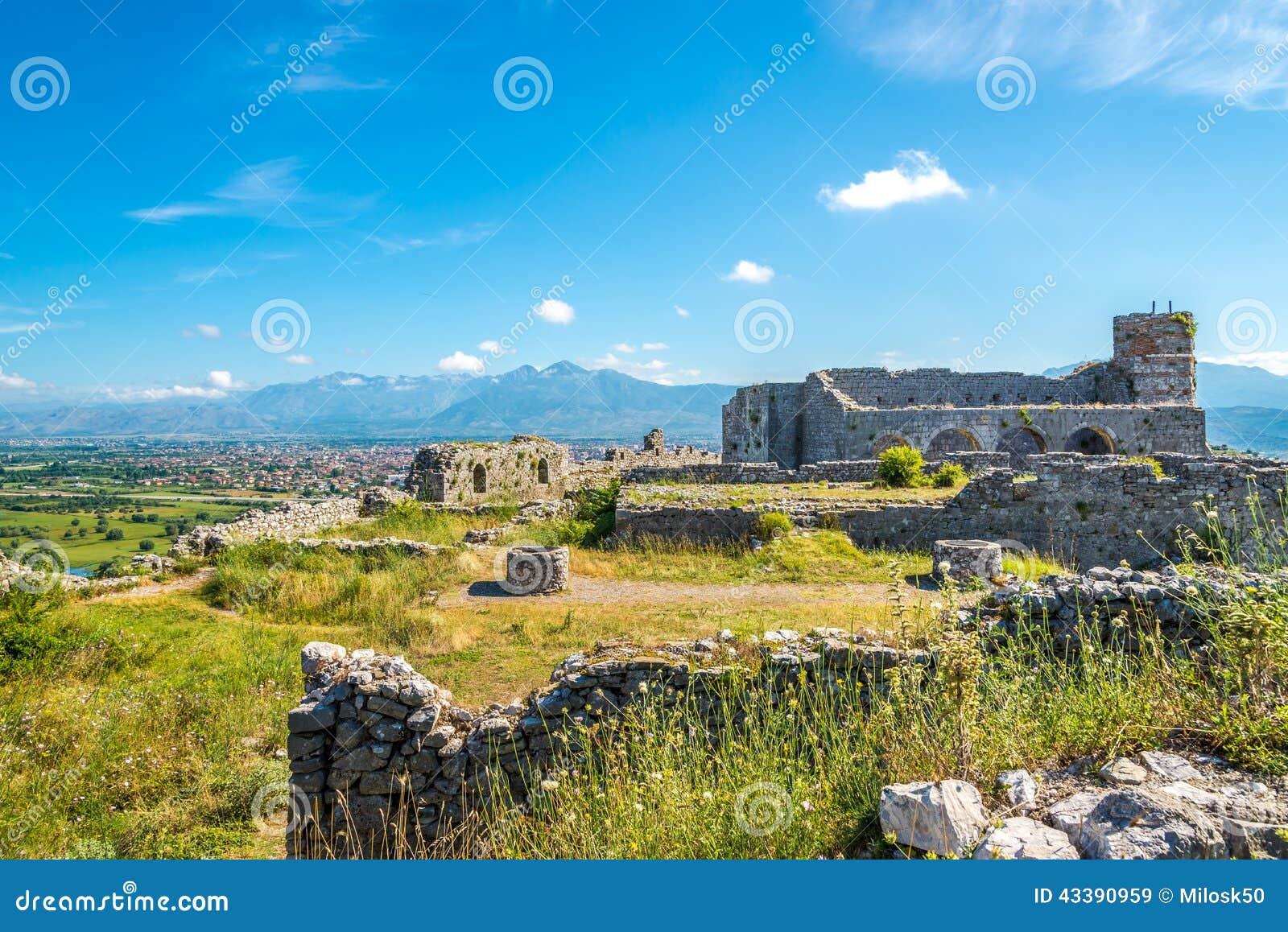 Rovine del castello di Rozafa