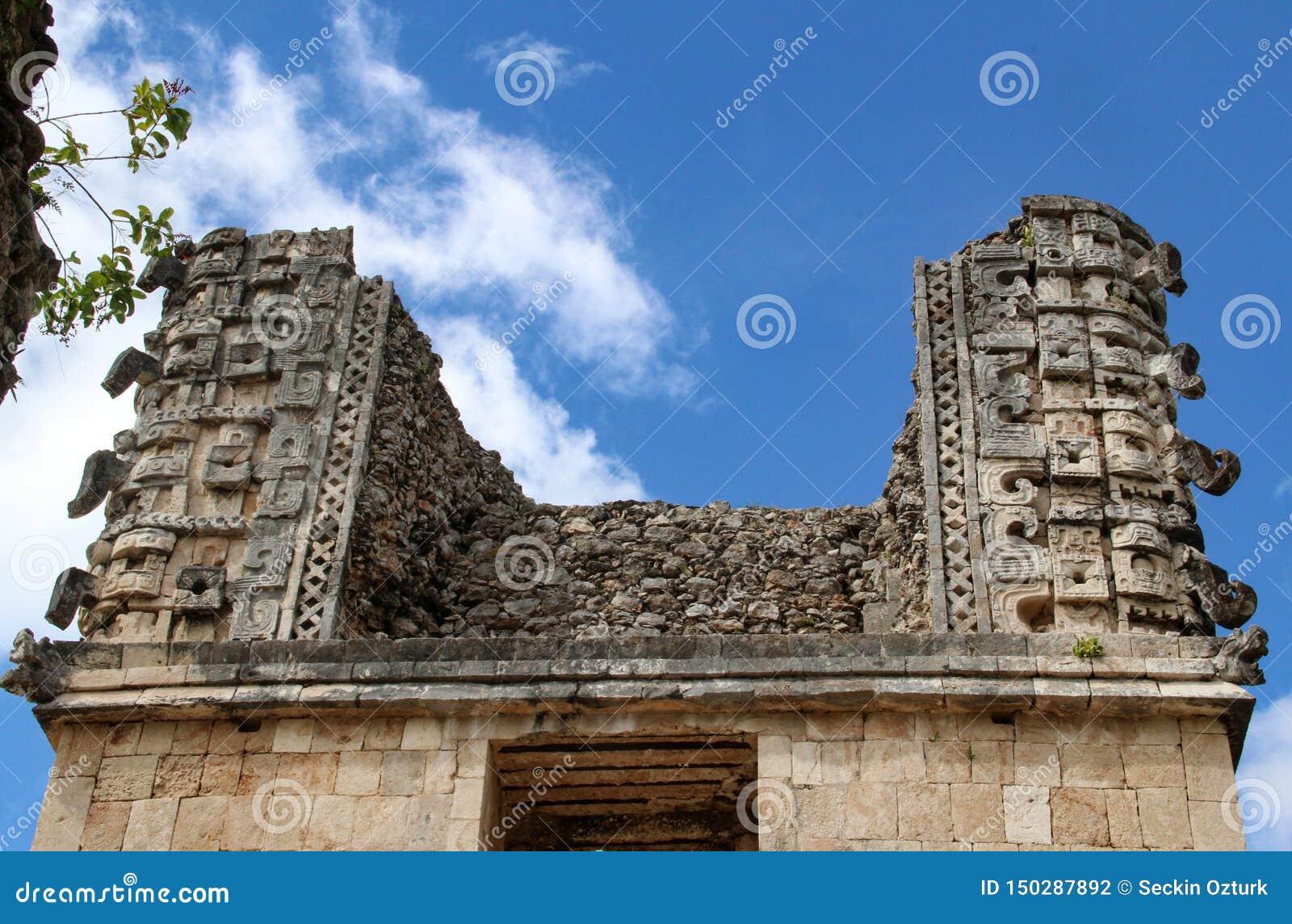 Rovine della città antica di Uxmal