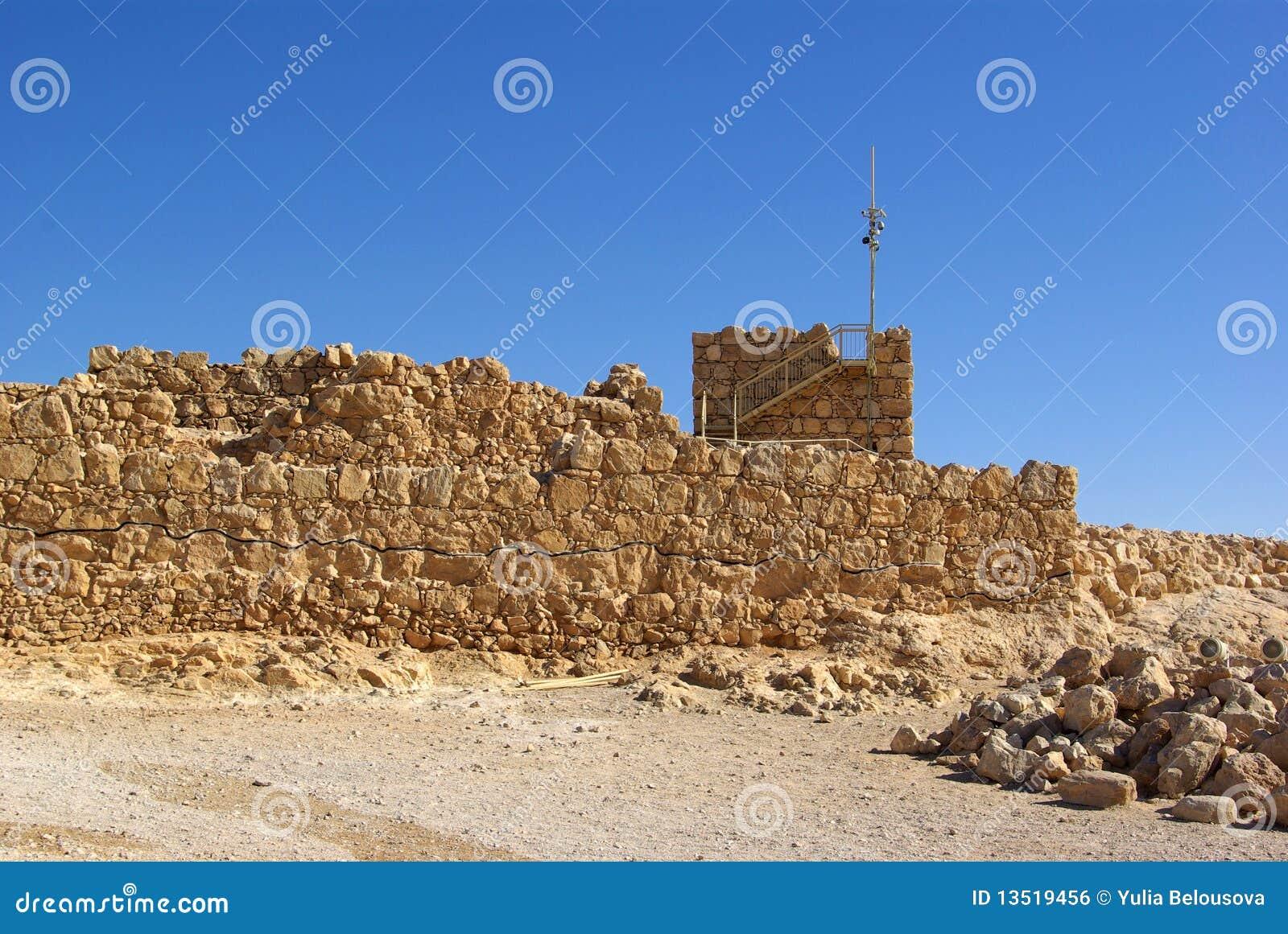 Rovine della fortezza di Masada