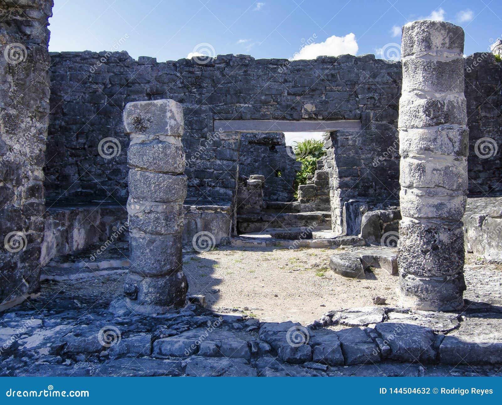 Rovine maya di Tulum - il Messico