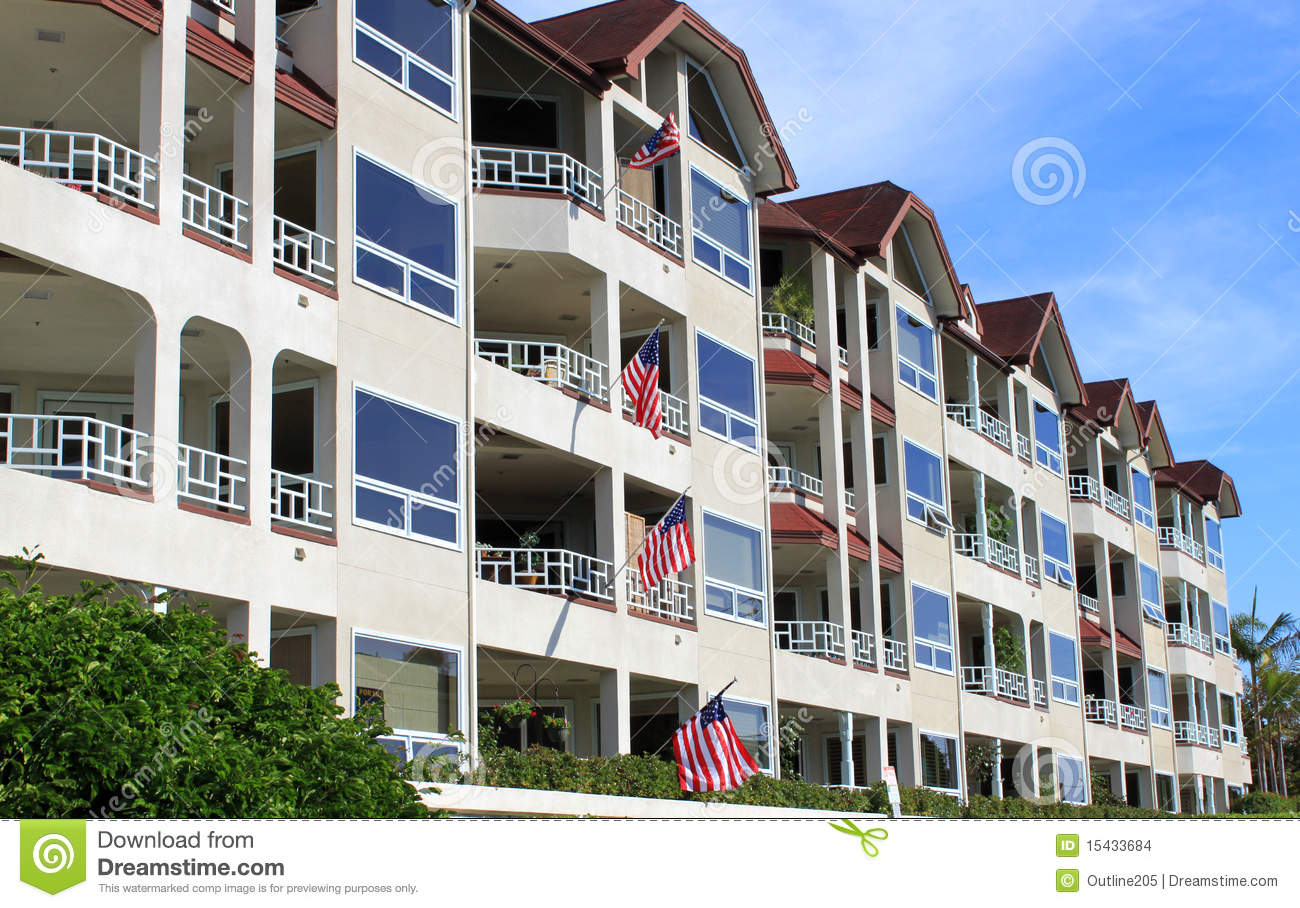 Row of apartment buildings stock images image 15433684 - Apartment buildings san diego ...