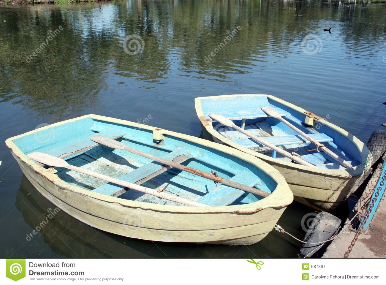Download Row Boats stock image. Image of summer, peace, boats, wood - 687367