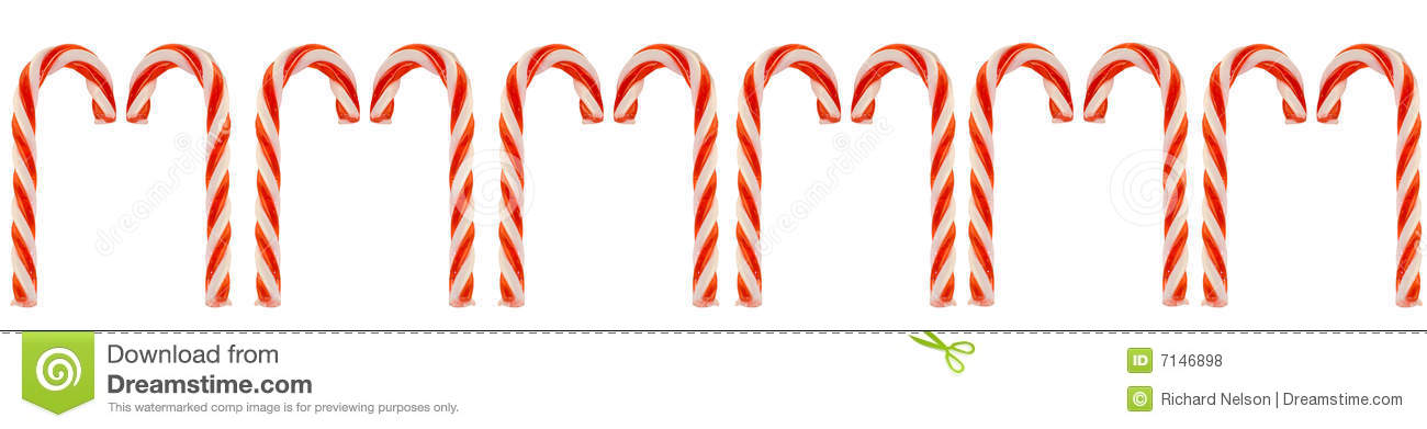 row of candy canes royalty free stock photos