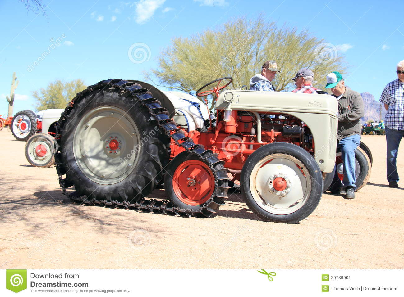 Antique American Tractor: Ford Crawler - Model 8N (1948)