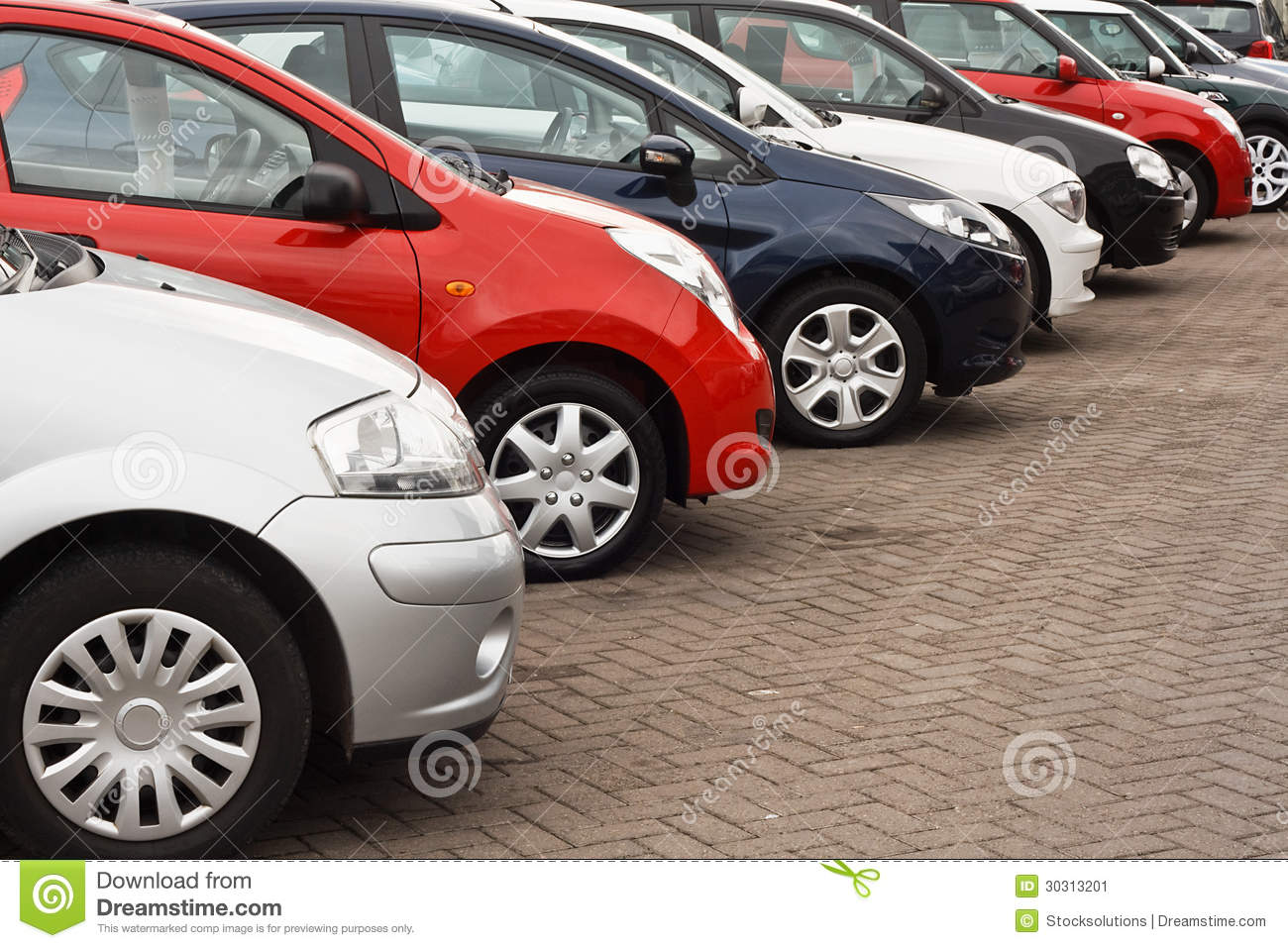 Used car sales stock image image 30313201 for Used car motors for sale