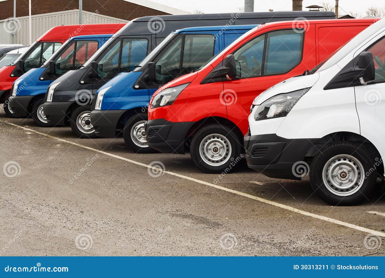 used van sales stock image image 30313211