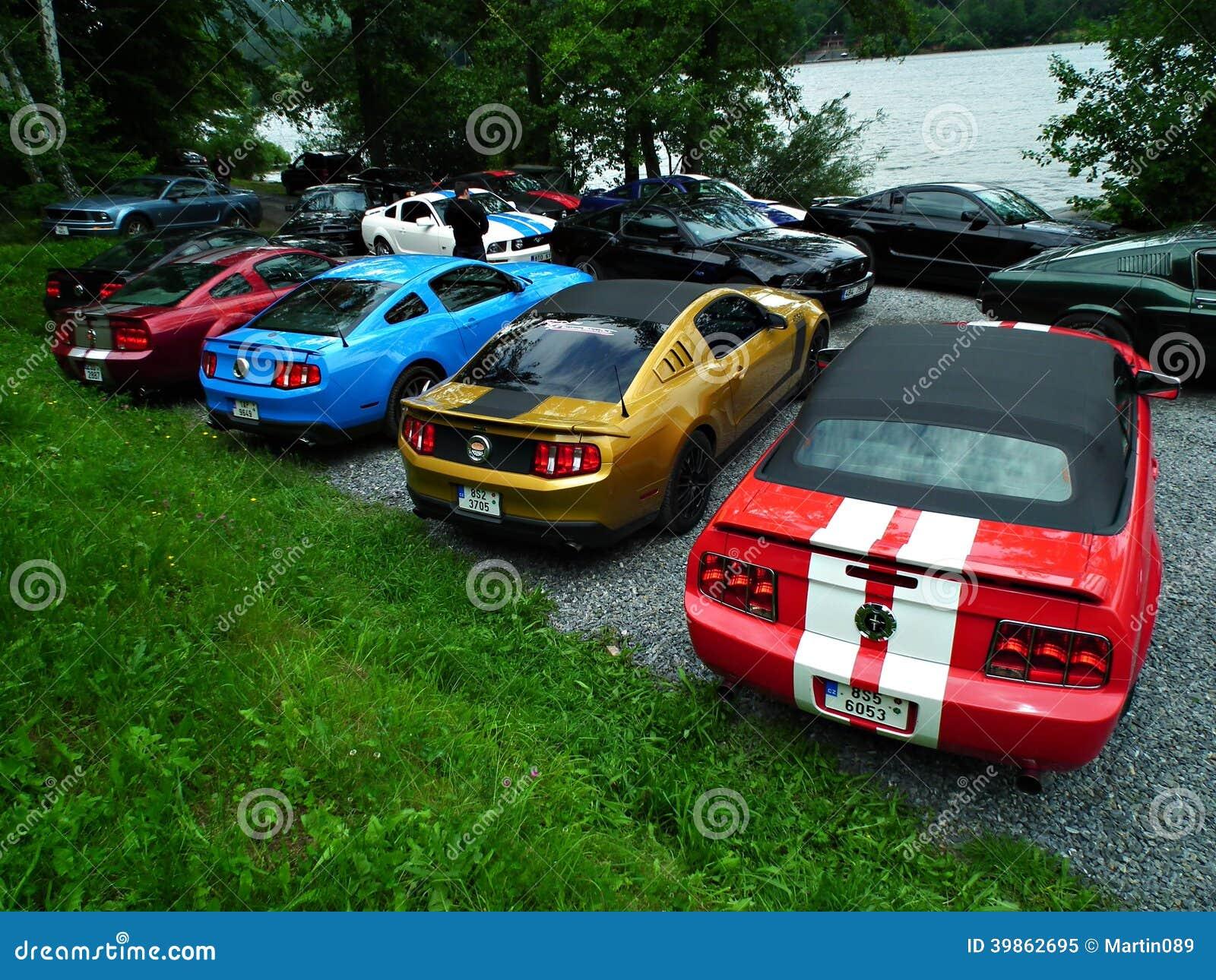 Mustangs Car Show In Modesto Ca