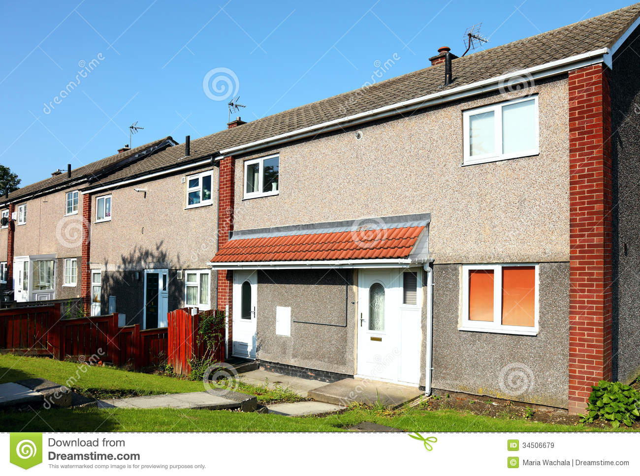 Row Of New Stock Image Image Of Lifestyles