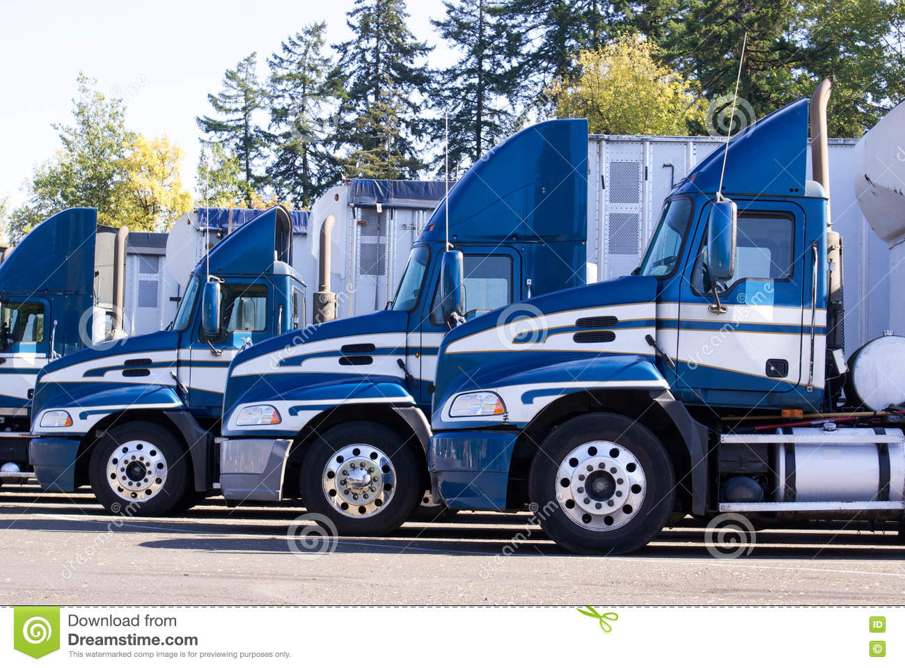 Download Row Of Parked Trucks - Closeup Editorial Photography - Image of goods, drive: 71105812