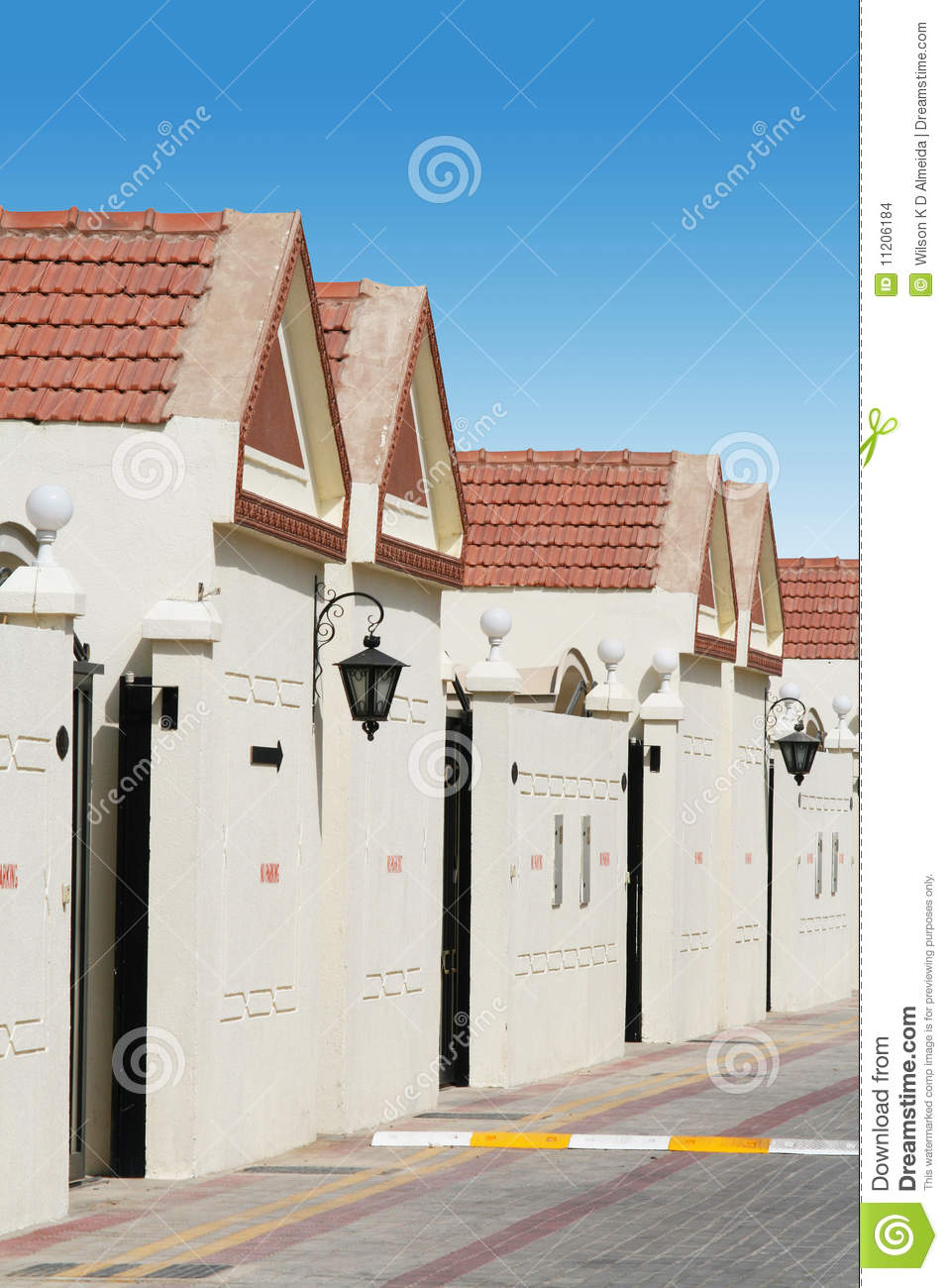 A Row of Town Houses