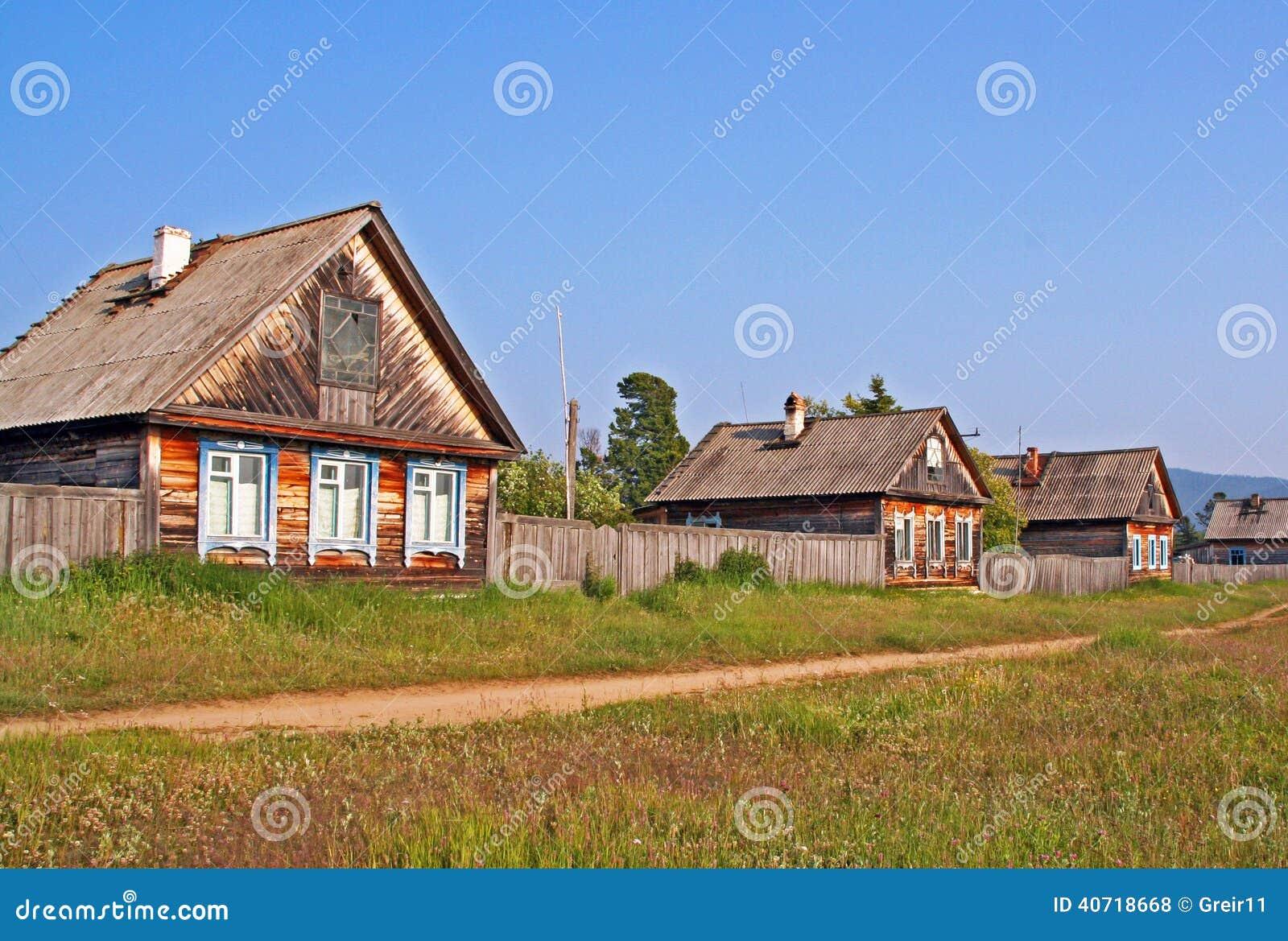 Lake white russian village